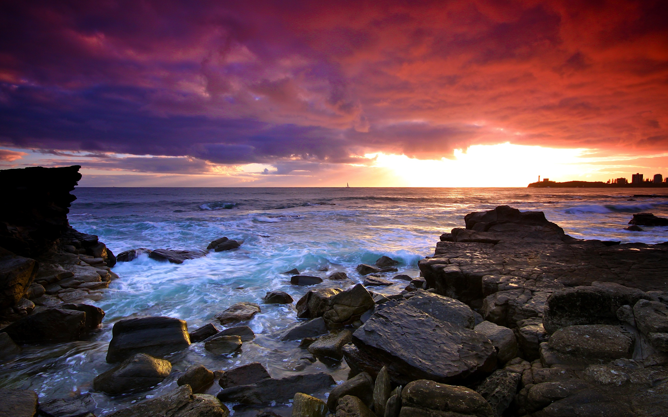 beautiful sea landscape wallpaper - photo #17