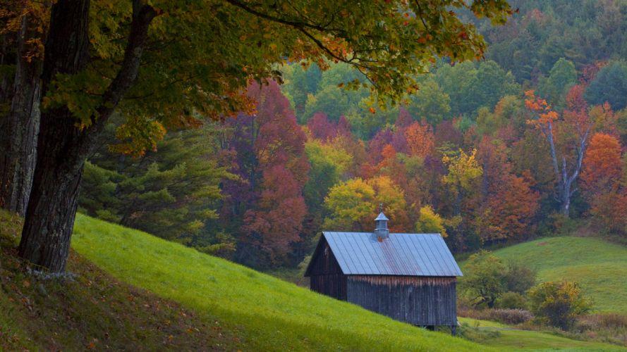 Vermont autumn wallpaper