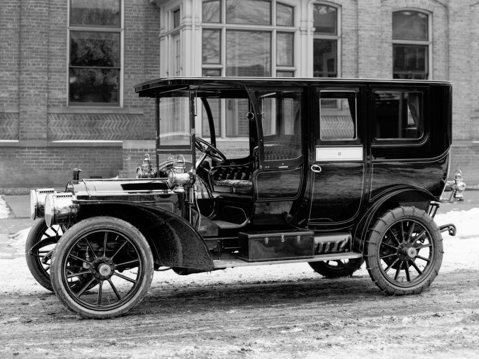 1909 Packard Model-30 Limousine (UB) retro luxury wallpaper