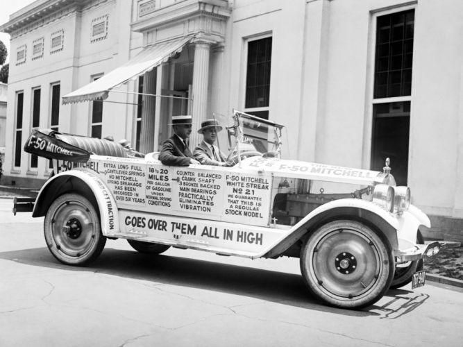 1922 Mitchell Model-F50 Touring retro f wallpaper