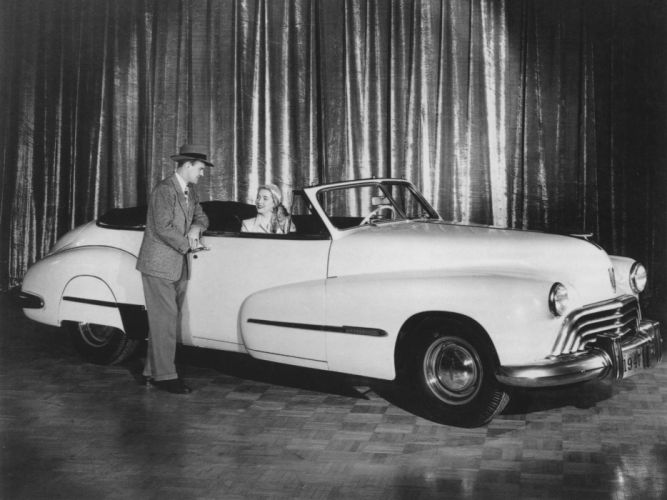 1947 Oldsmobile Custom Cruiser 98 Convertible (3967) retro 9-8 g wallpaper