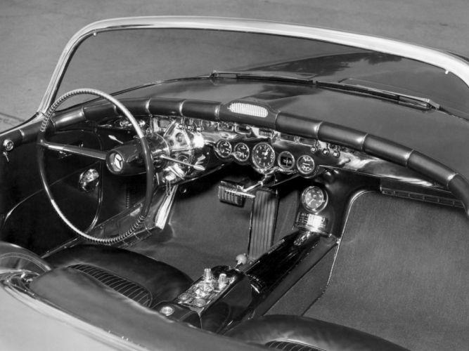 1951 Buick LeSabre concept retro custom interior h wallpaper