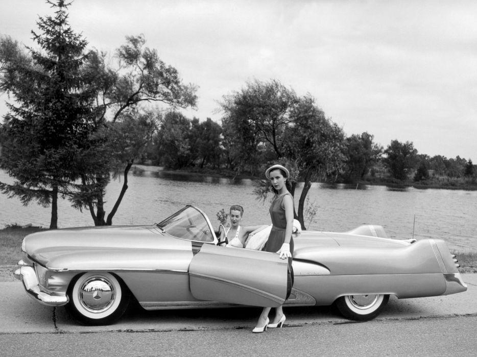 1951 Buick LeSabre concept retro custom  r wallpaper