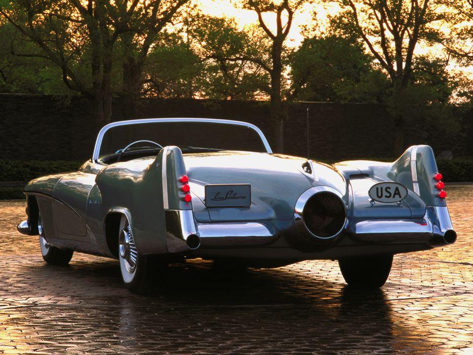 1951 Buick LeSabre concept retro custom  f wallpaper
