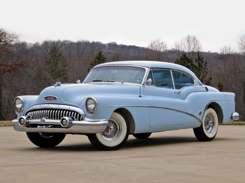 1953 Buick Skylark Hardtop Prototype retro wallpaper