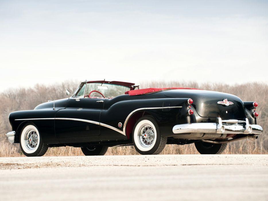 1953 Buick Skylark retro luxury convertible    f wallpaper