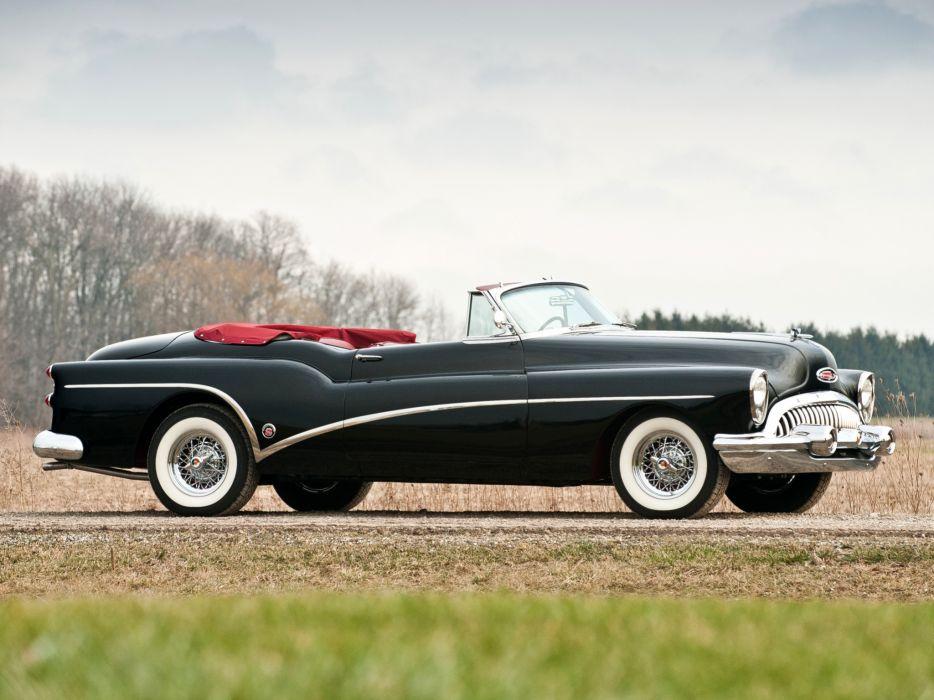 1953 Buick Skylark retro luxury convertible   t wallpaper