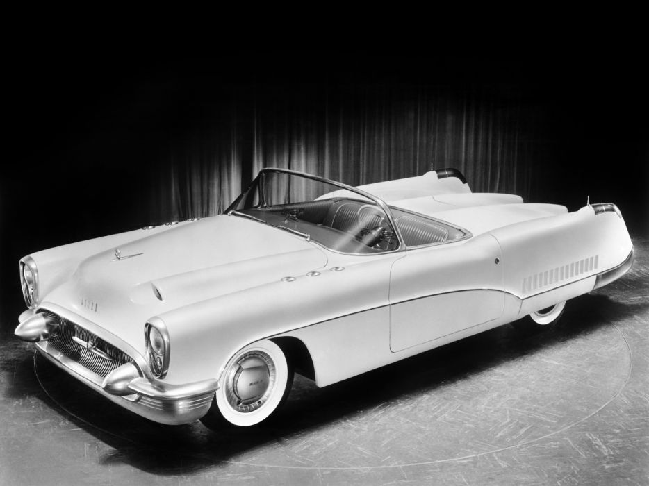 1953 Buick Wildcat Concept Car Retro F Wallpaper 2048x1536