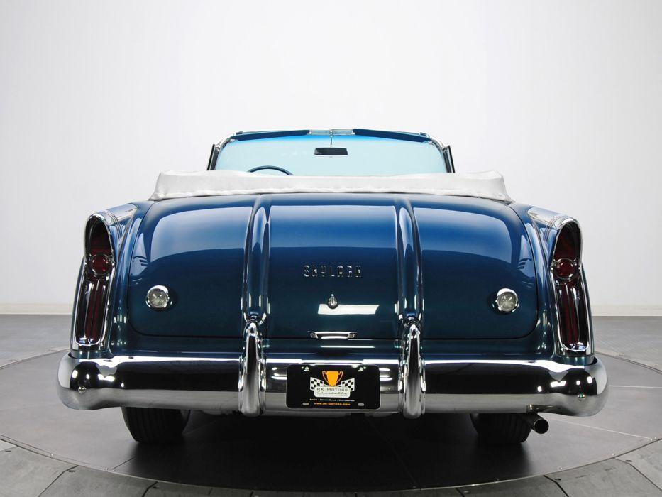 1954 Buick Skylark (4667SX) convertible retro   g wallpaper