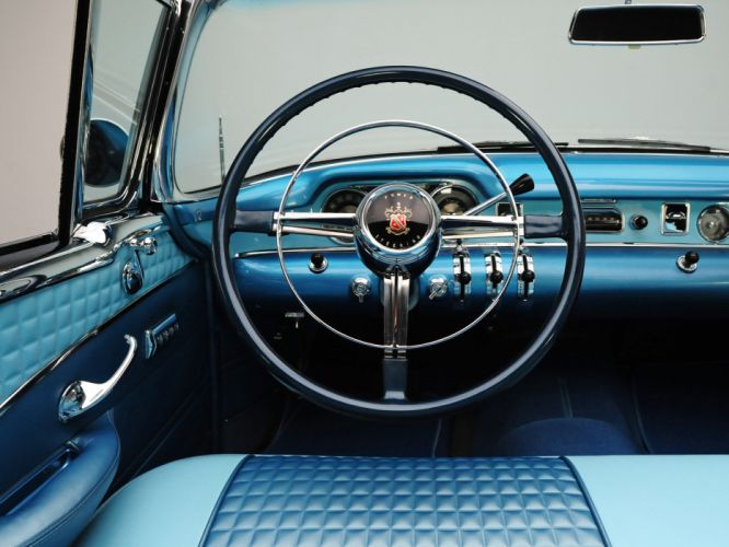 1954 Buick Skylark (4667SX) convertible retro interior g wallpaper