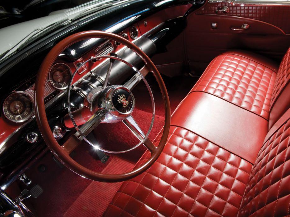 1954 Buick Skylark (4667SX) convertible retro interior     g wallpaper
