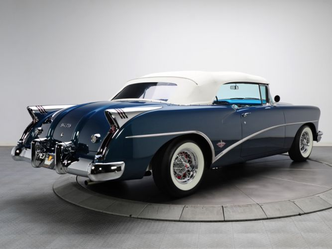 1954 Buick Skylark (4667SX) convertible retro db wallpaper