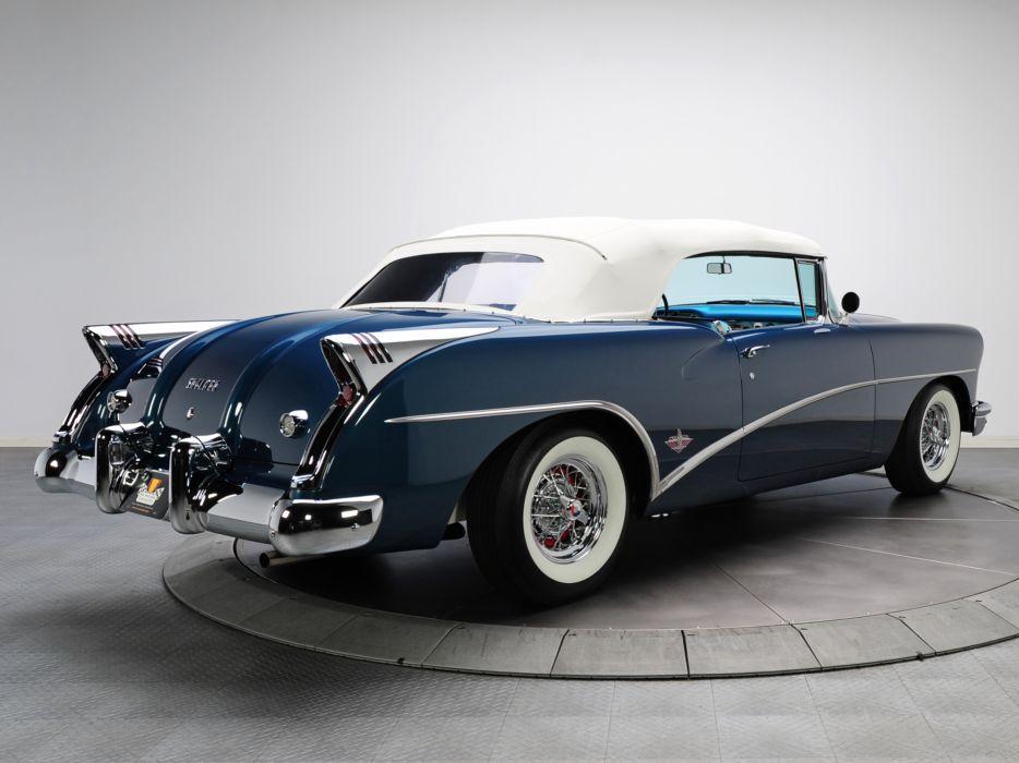 1954 Buick Skylark (4667SX) convertible retro   db wallpaper