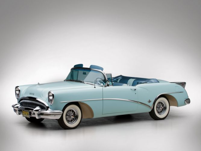 1954 Buick Skylark (4667SX) convertible retro f wallpaper