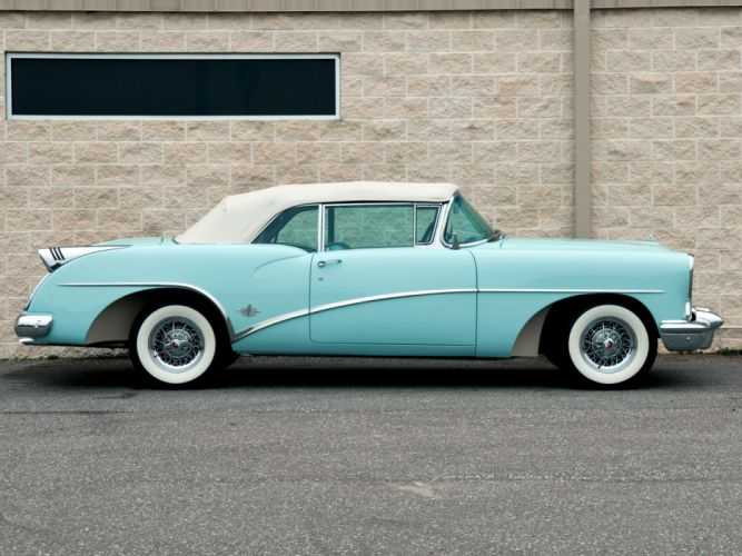 1954 Buick Skylark (4667SX) convertible retro d wallpaper
