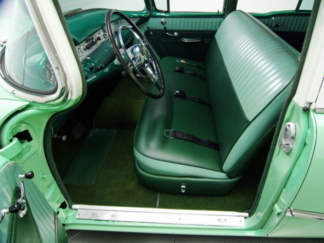 1954 Buick Special Estate Wagon (49) stationwagon retro interior h wallpaper