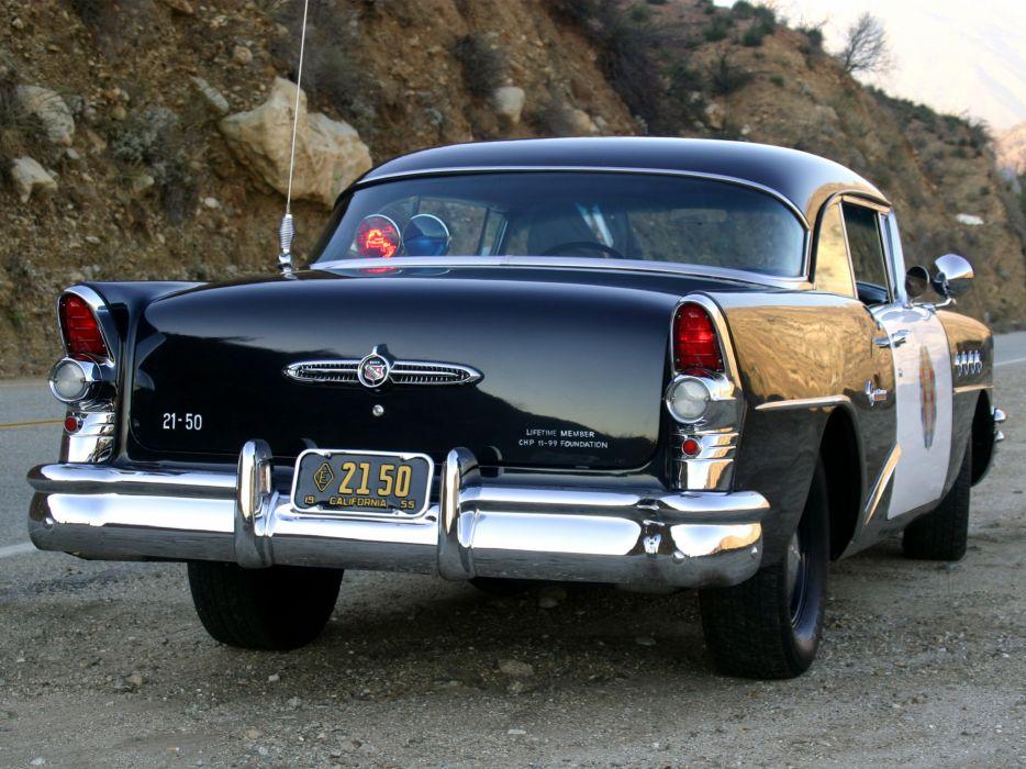 1955 Buick Century Sedan Highway Patrol Police retro wallpaper