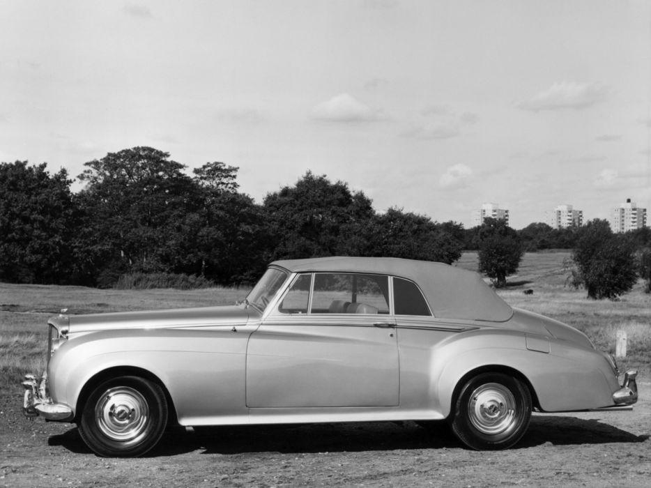 1959 Bentley S2 Drophead Coupe by Mulliner luxury retro s-2 wallpaper