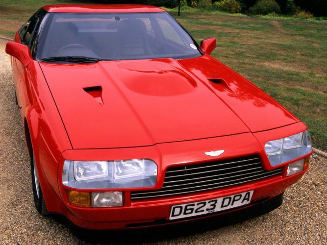 1986 Aston Martin V8 Vantage Zagato v-8 y wallpaper