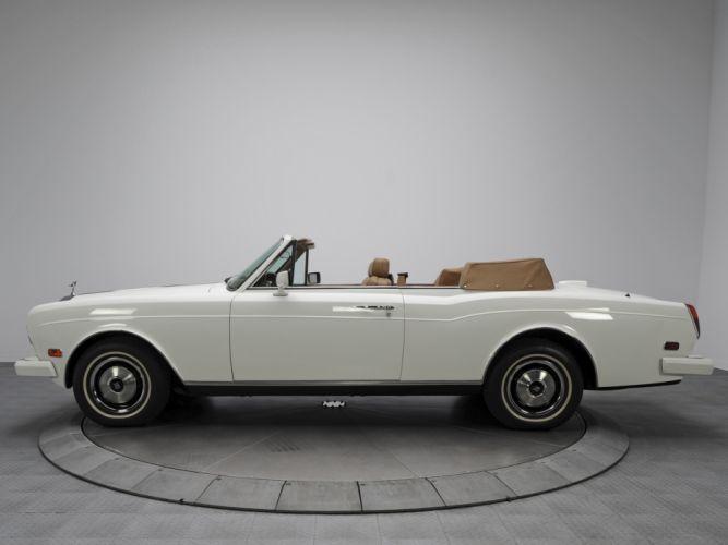 1986 Rolls Royce Corniche II luxury d wallpaper