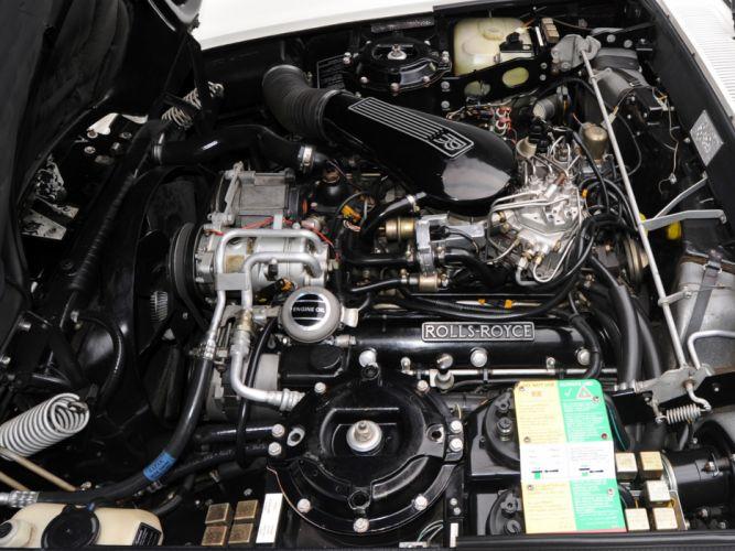 1986 Rolls Royce Corniche II luxury engine g wallpaper