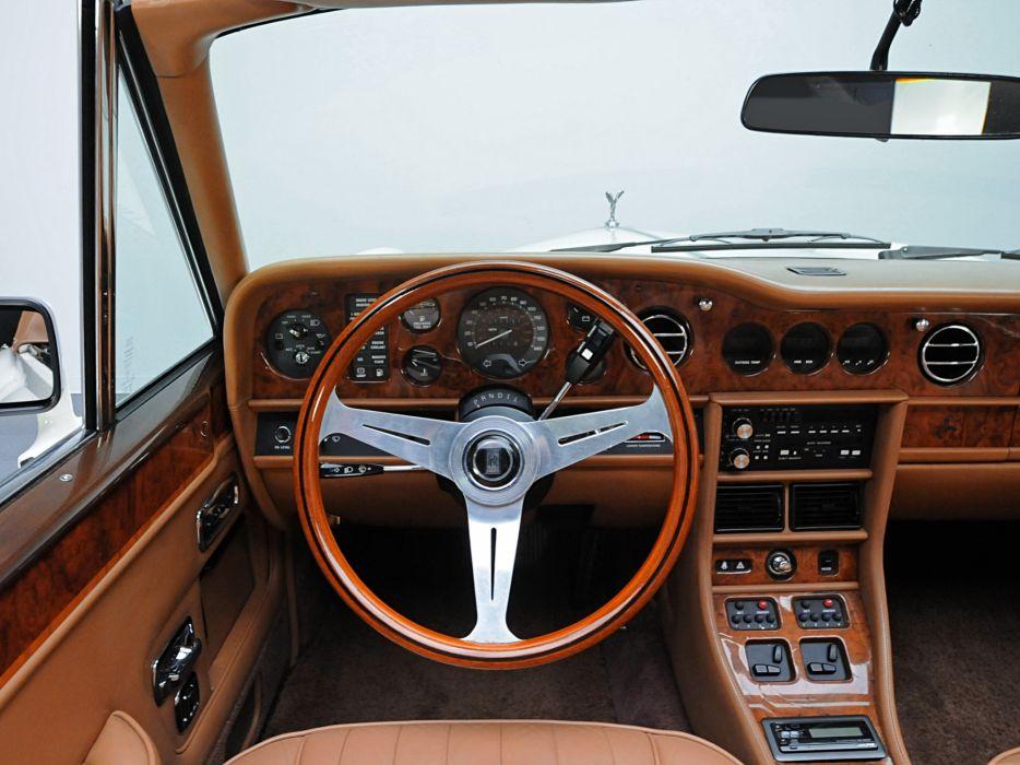 1986 Rolls Royce Corniche II luxury interior  o wallpaper