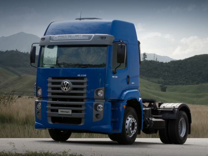 2011 Volkswagen Constellation Tractor semi g wallpaper
