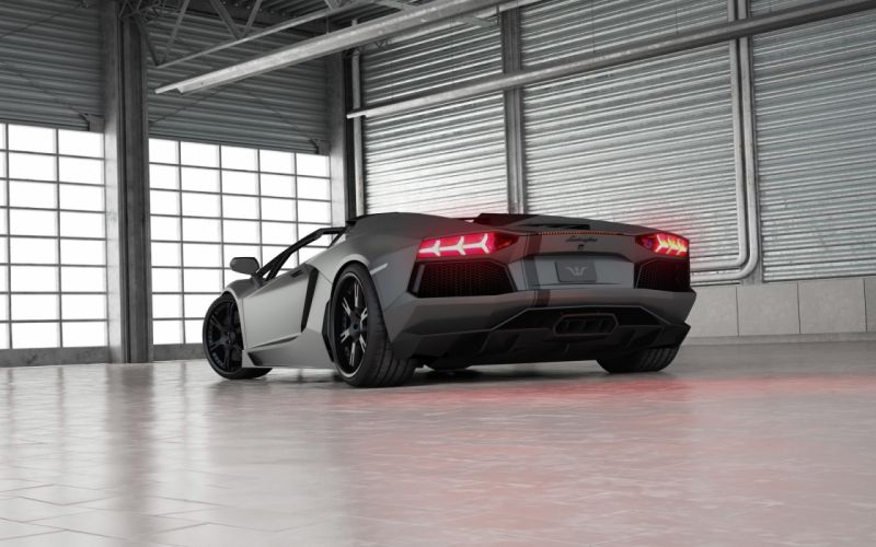 2013 Wheelsandmore Lamborghini Aventador Roadster supercar d wallpaper
