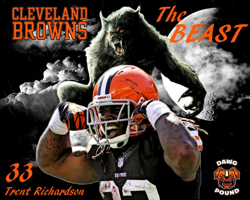 CLEVELAND BROWNS nfl football   y wallpaper