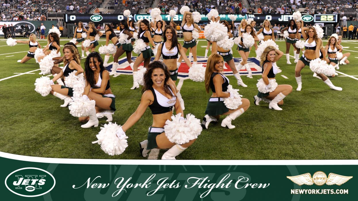 NEW YORK JETS nfl football cheerleader  g wallpaper