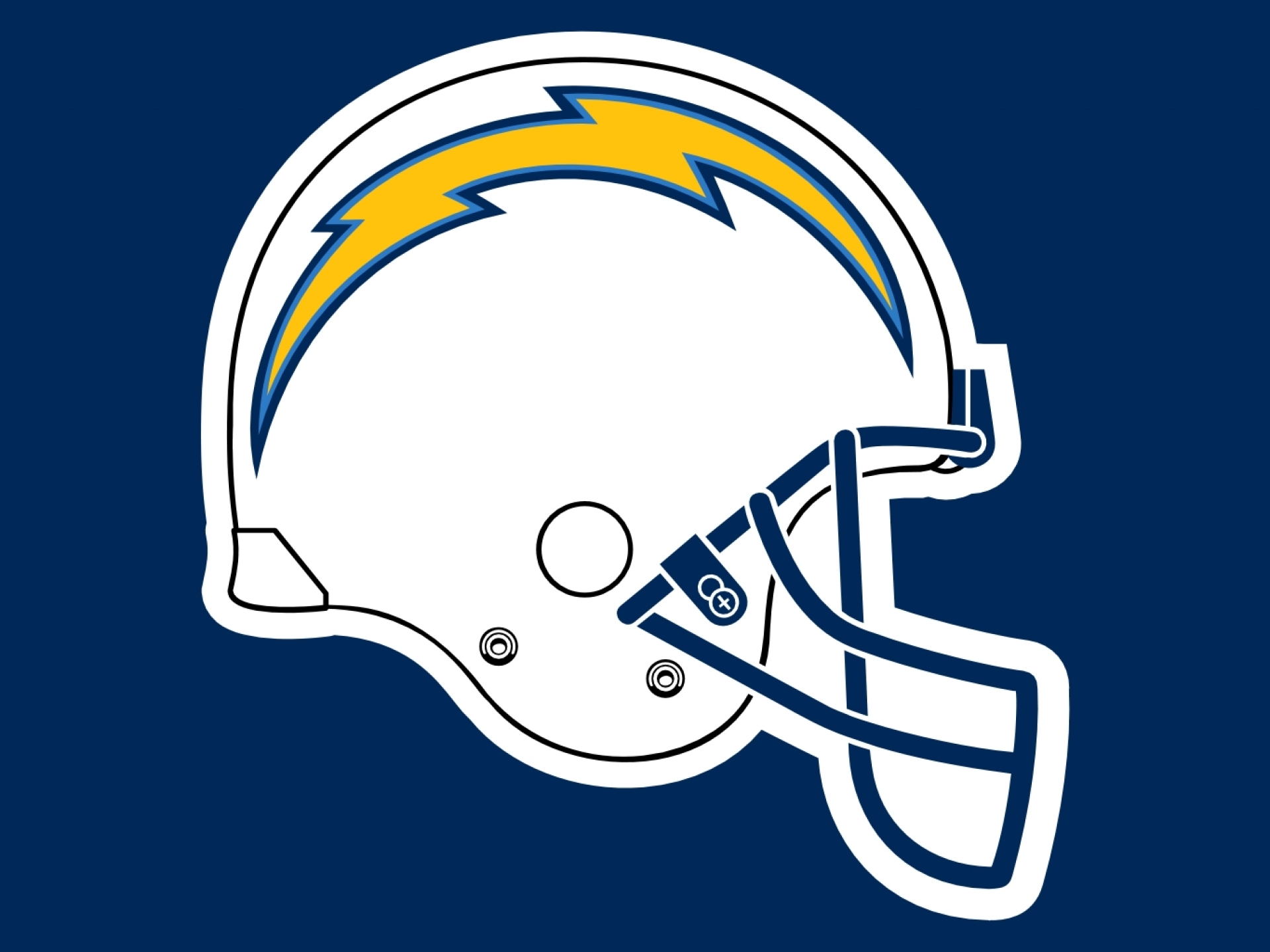 San Diego Chargers Nfl Football Ew Wallpaper 1920x1440