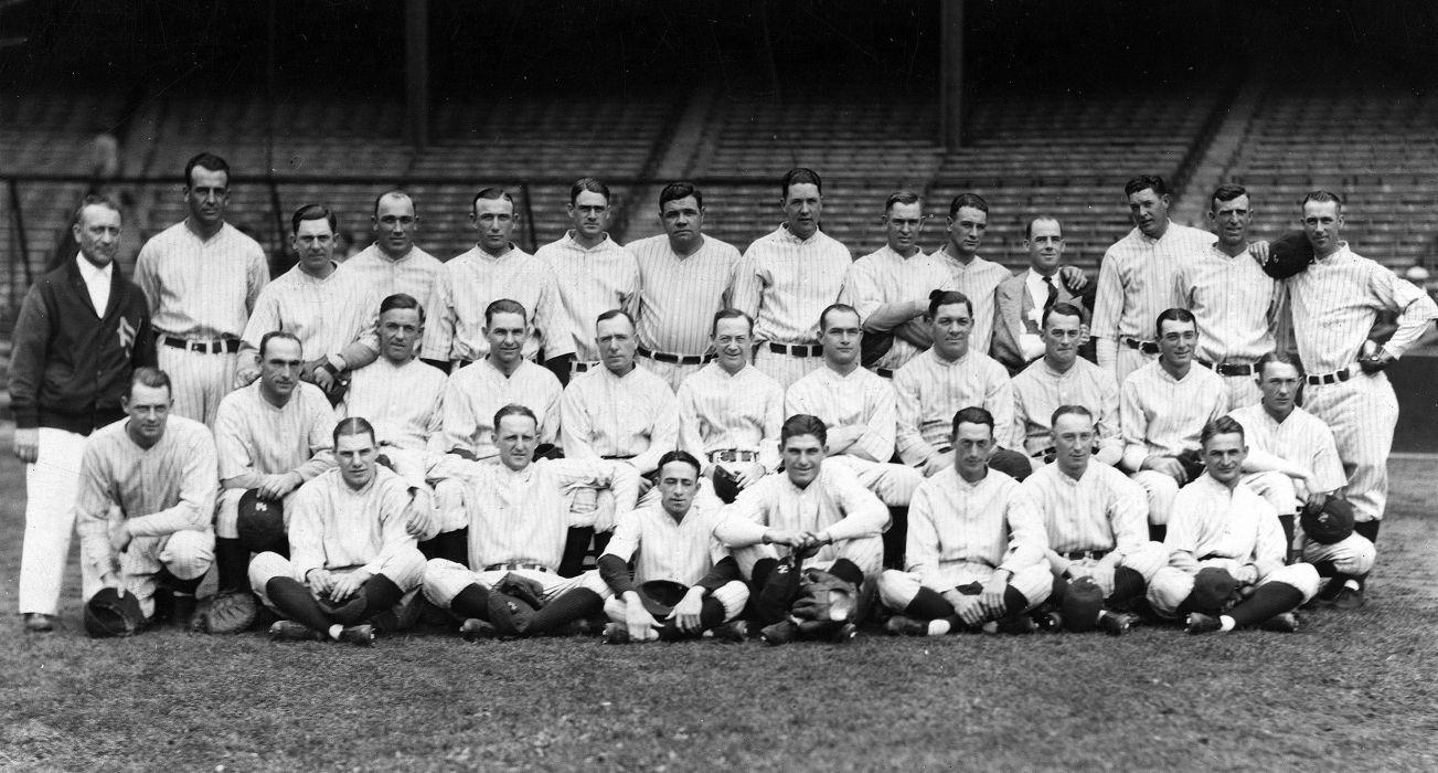 1926 NEW YORK YANKEES baseball mlb wallpaper