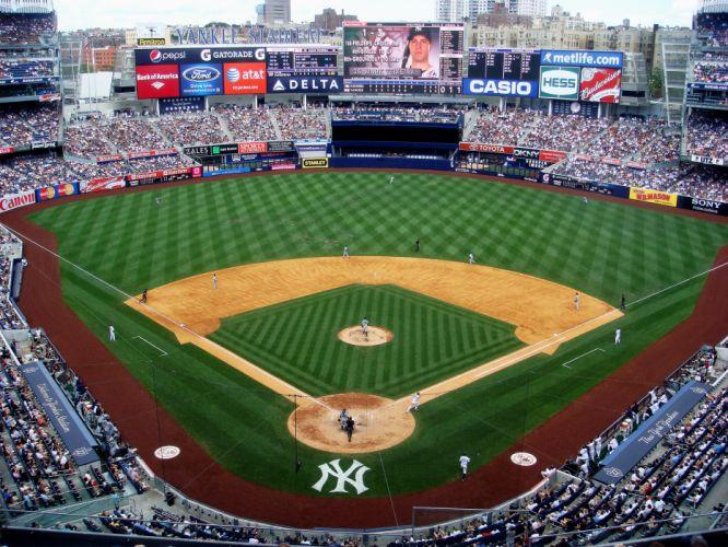 NEW YORK YANKEES baseball mlb d wallpaper