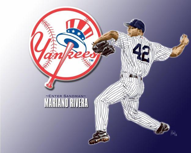 NEW YORK YANKEES baseball mlb fl wallpaper