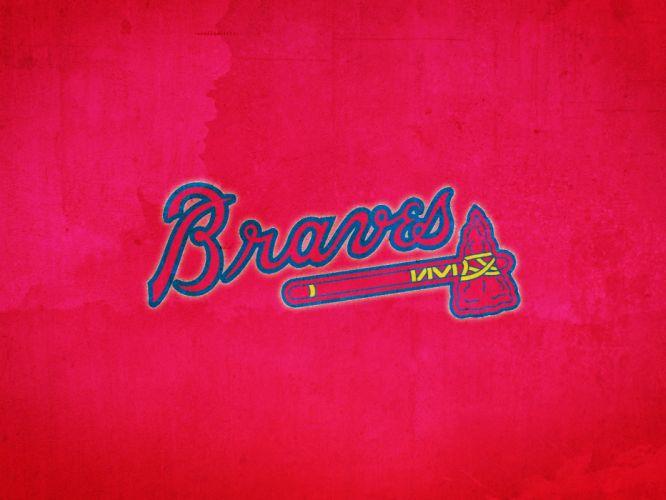 ATLANTA BRAVES baseball mlb fk wallpaper