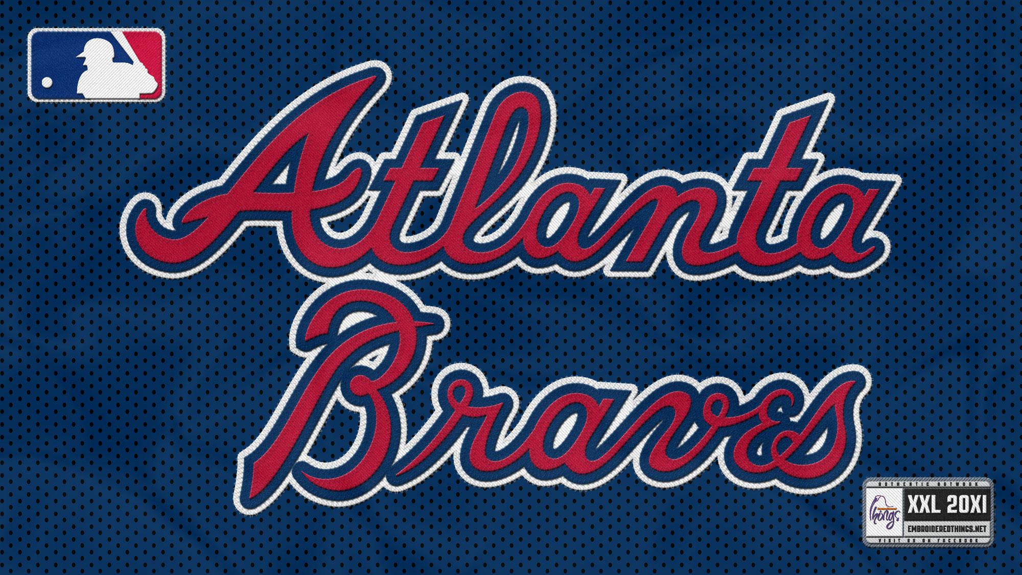 atlanta braves baseball mlb dh wallpaper 2000x1125