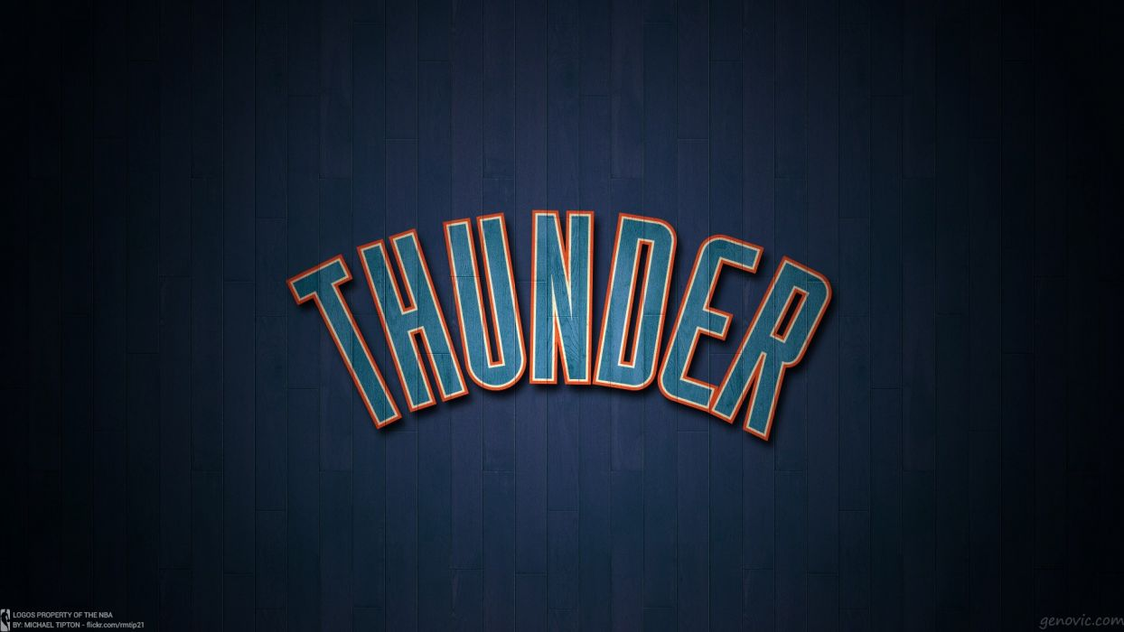 OKLAHOMA CITY THUNDER basketball nba    g wallpaper