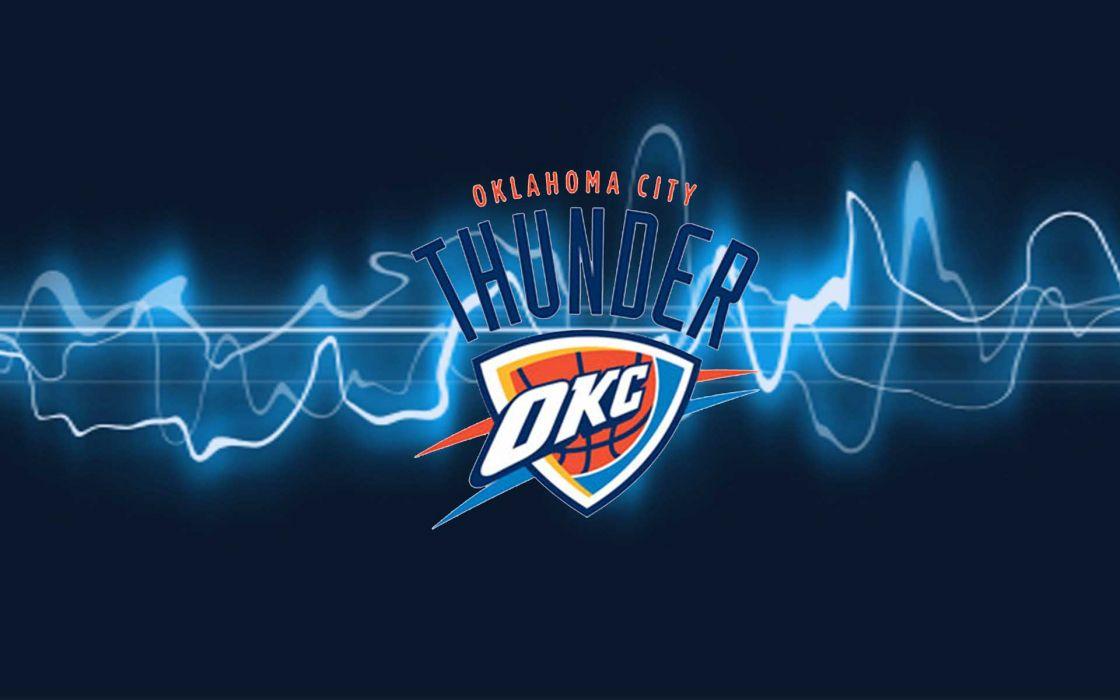 OKLAHOMA CITY THUNDER basketball nba   f wallpaper