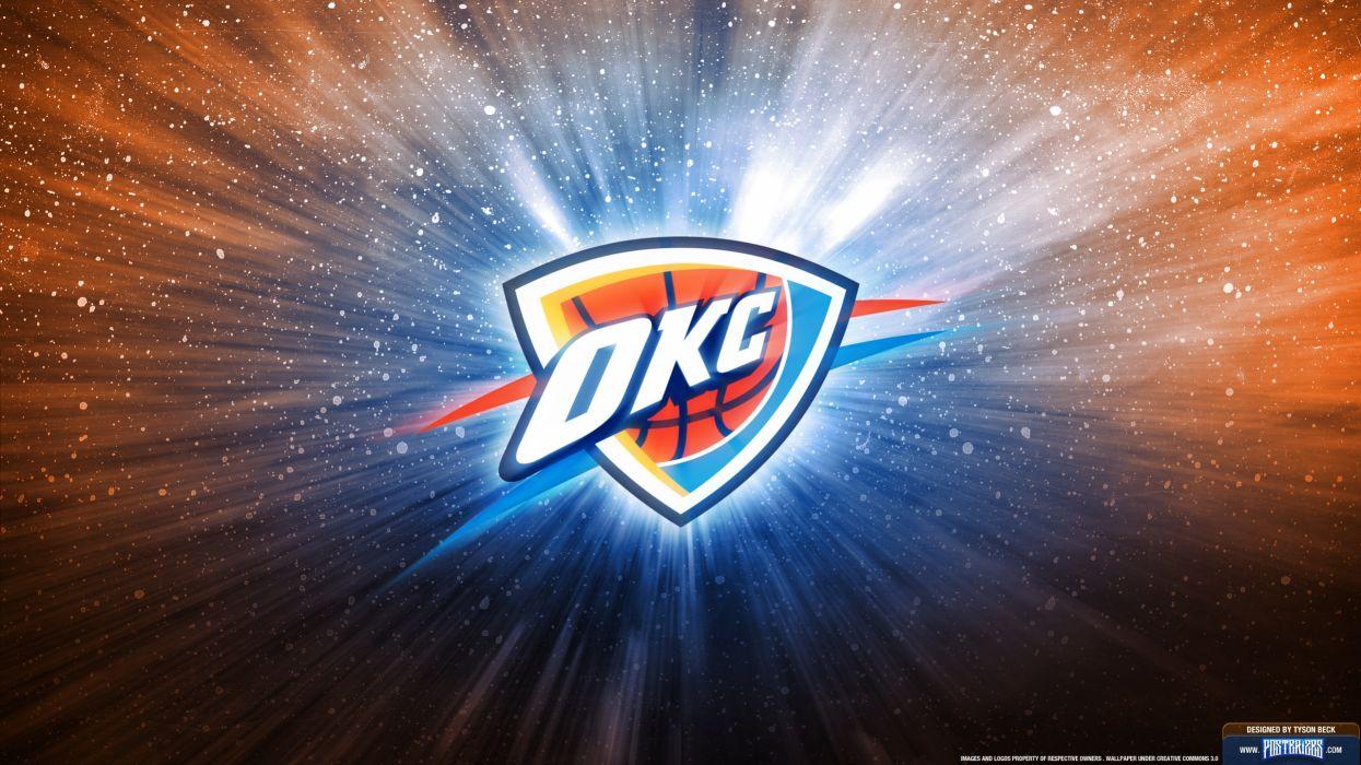 OKLAHOMA CITY THUNDER basketball nba   g wallpaper
