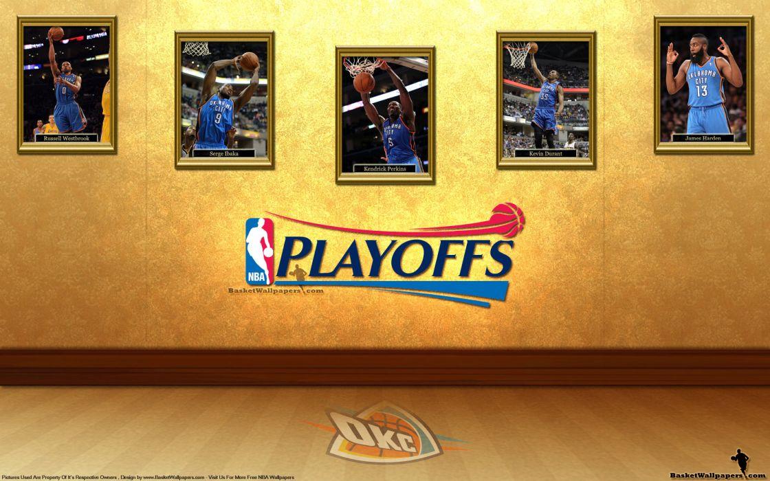 OKLAHOMA CITY THUNDER basketball nba   hs wallpaper