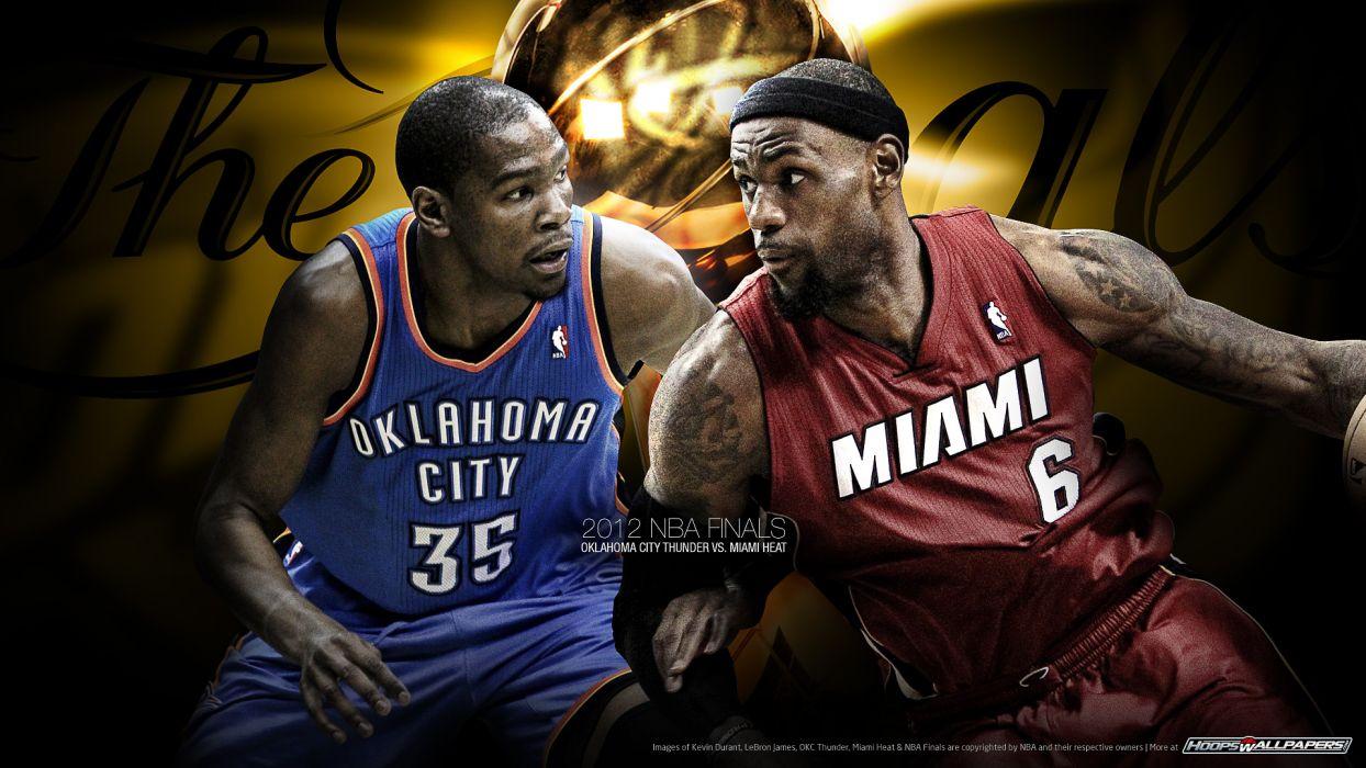 OKLAHOMA CITY THUNDER basketball nba miami heat   f wallpaper