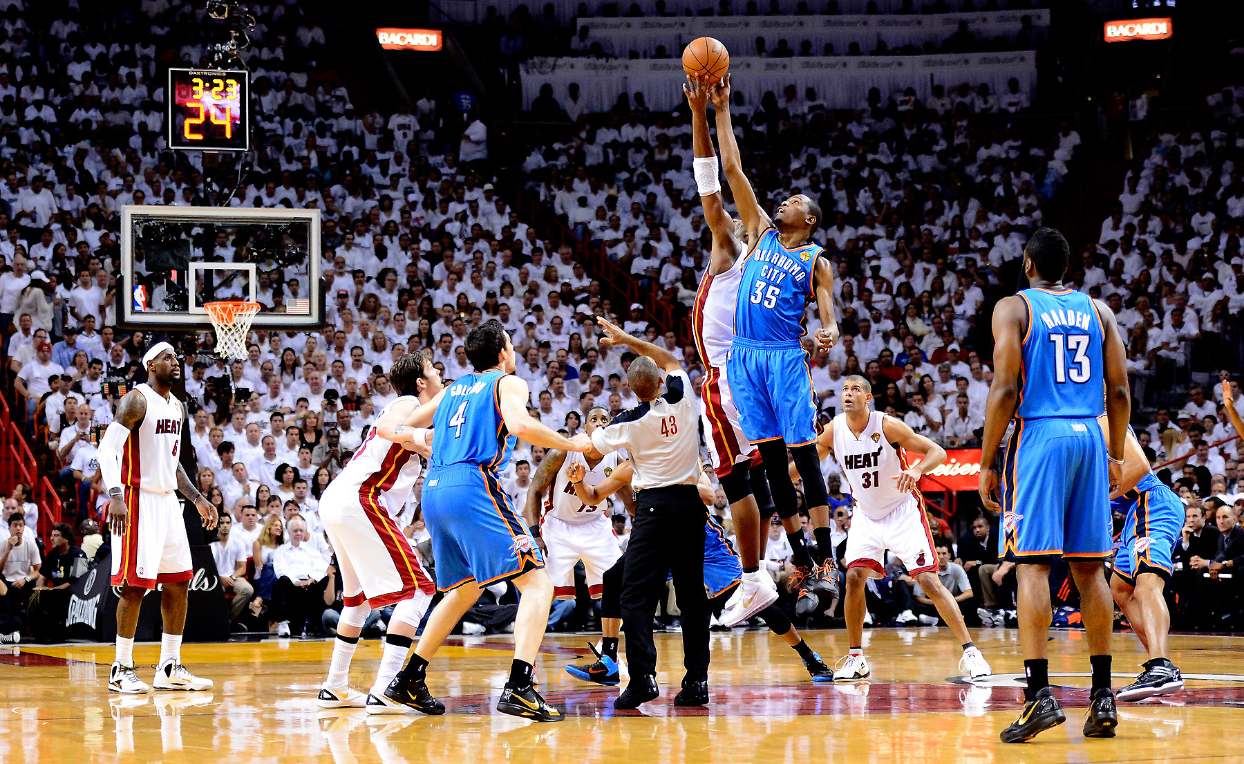 OKLAHOMA CITY THUNDER basketball nba miami heat wallpaper ...