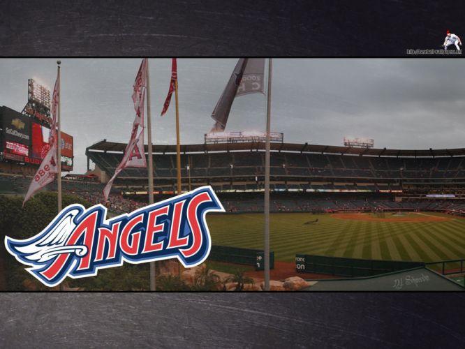 ANAHEIM ANGELS baseball mlb f wallpaper