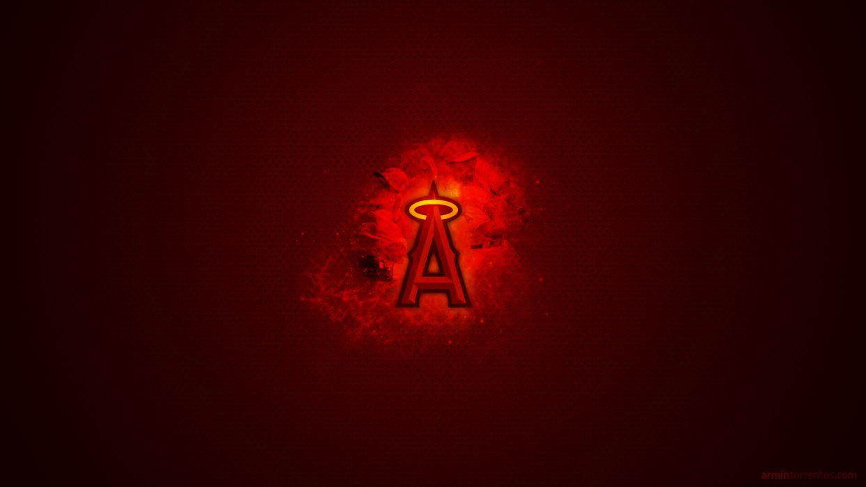 ANAHEIM ANGELS baseball mlb    eh wallpaper