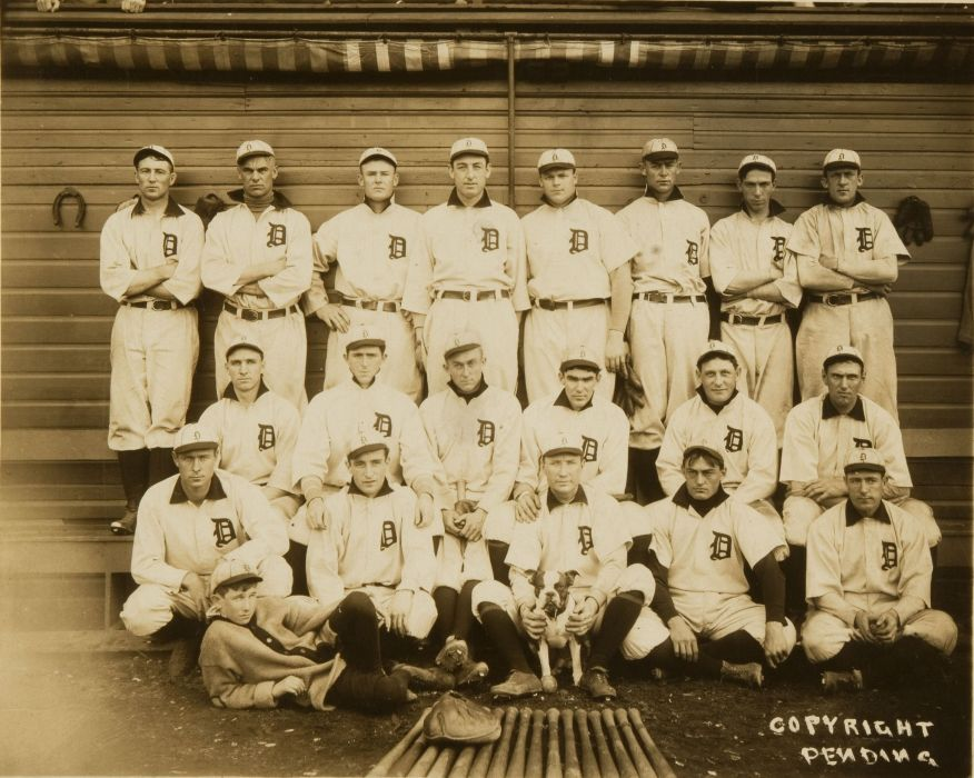 DETROIT TIGERS baseball mlb 1907    f wallpaper