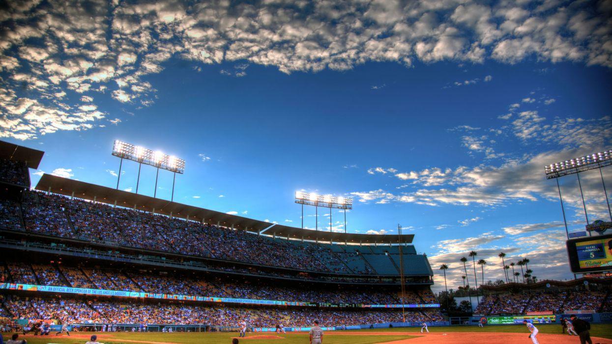 LOS ANGELES DODGERS baseball mlb     h wallpaper
