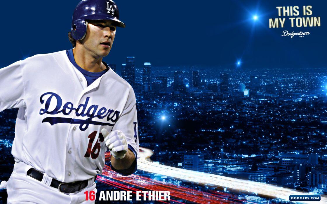 LOS ANGELES DODGERS baseball mlb   hr wallpaper