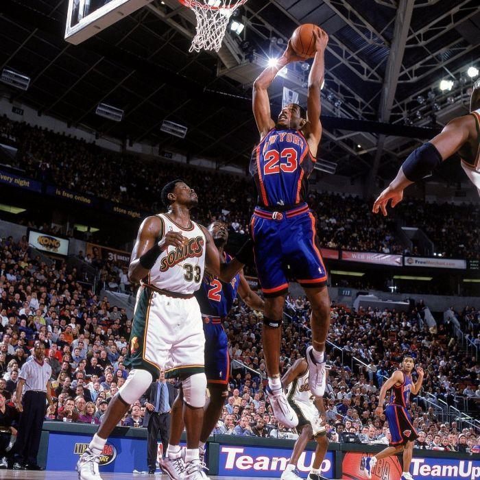 NEW YORK KNICKS basketball nba seattle supersonics   y wallpaper