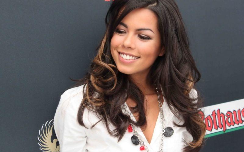 Woman Girl Beauty Brunette Fernanda Brandao wallpaper