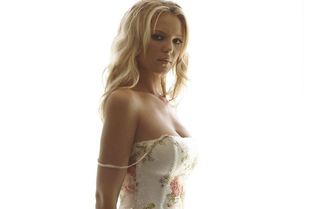 Woman Girl Beauty Blonde Katherine Heigl wallpaper